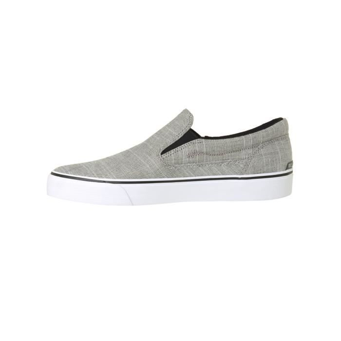 Slip DC Trase on TX Gris Edition Chaussures Gris Special RaqCwHnax1