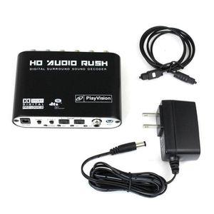 ADAPTATEUR ACQUISITION Audio 5.1CH AC3 DTS Décodeur de son numérique opti