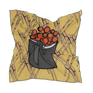 ECHARPE - FOULARD Serre-Tete Professionnel YR7I0 Polyester Soft Foul