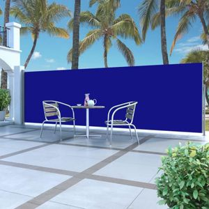 STORE - STORE BANNE  Auvent latéral rétractable 160 x 500 cm Bleu - DM4