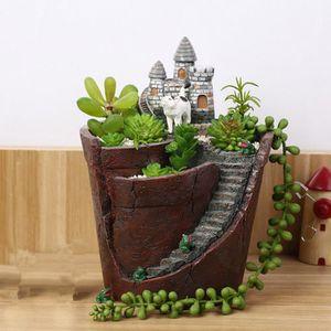 JARDINIÈRE - BAC A FLEUR DIY Pot fleurs en résine, Pot de fleurs decoration