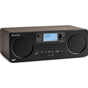 RADIO CD CASSETTE auna Worldwide Radio Internet avec tuner DAB-DAB+