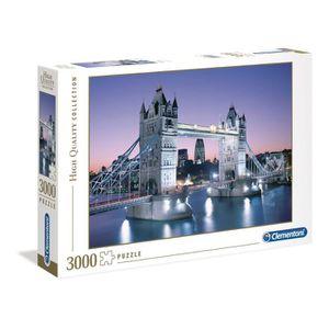 PUZZLE PUZZLE 3000 pièces - Tower Bridge - 188 X 84 cm