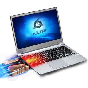 VENTILATION  KLIM Cool + Refroidisseur PC Portable en Métal - L