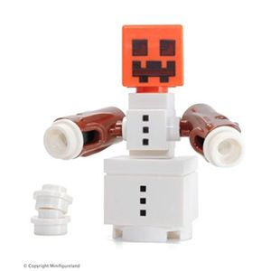 ASSEMBLAGE CONSTRUCTION Jeu D'Assemblage LEGO DE8N8 Minecraft minifigure -