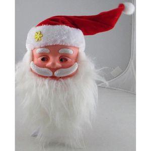 AUTOMATE ET PERSONNAGES Pere noel automate animé de Noel musical sur suppo