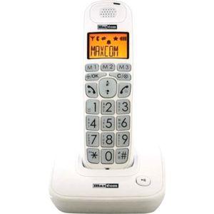 Téléphone fixe Téléphone Fixe Senior à grosses touches, Maxcom MC