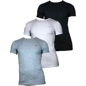 T-SHIRT DIESEL - Lots de 3 T-shirts The Essential - Homme