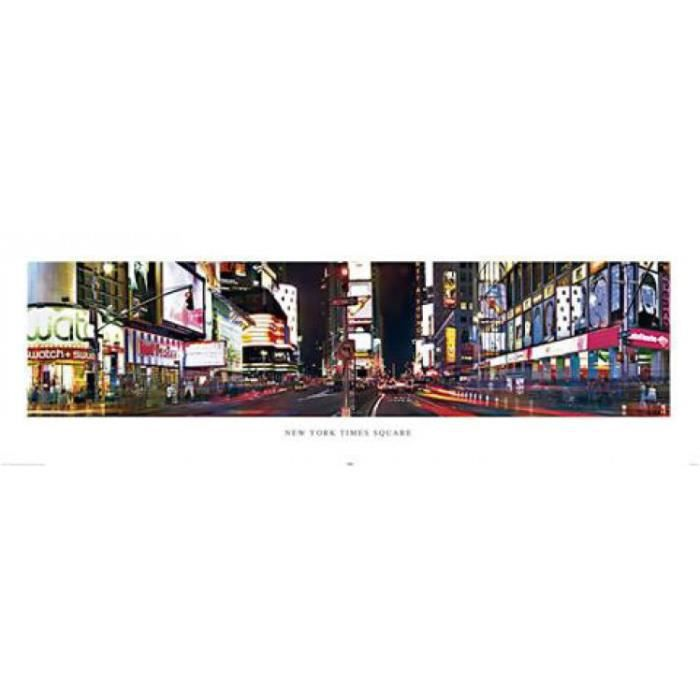 New york poster de porte times square 53 x 158 cm for Decoration porte new york