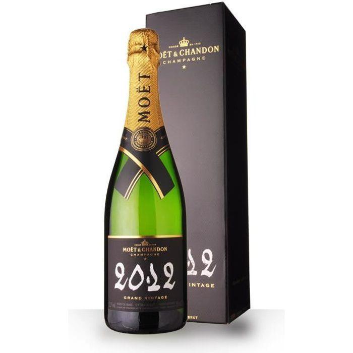 Moët et Chandon Grand Vintage 2012 Extra Brut - Etui - 75cl - Champagne