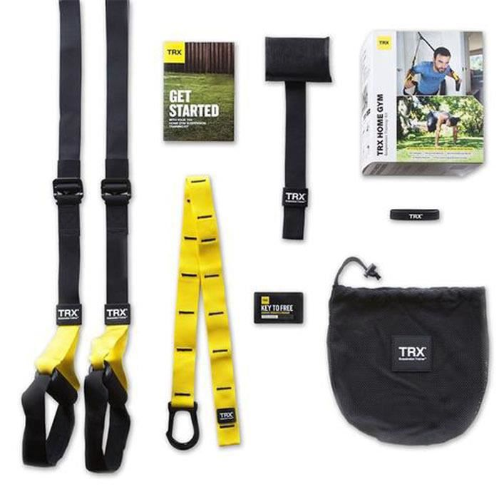 Kit de suspension training TRX Pro 6 - noir-jaune - TU