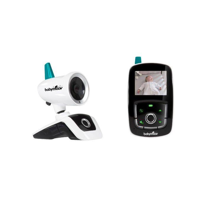 Babymoov Babyphone Video YOO Care - Caméra Orientable à 360° & Ecran 2,4-