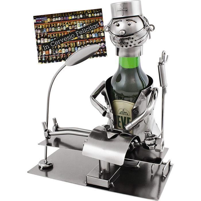 Brubaker Porte-Bouteille en métal pour bière chirurg avec Carte Cadeau