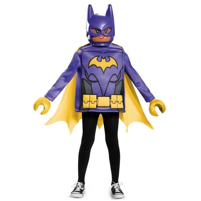 Déguisement classique Batgirl LEGO movie 7/8 ans