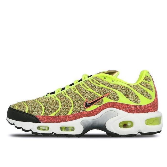 Sandale De Randonnee NIKE J8I45 sneaker édition spéciale wmns air max plus femme jaune 862201 700 Taille-36 1-2