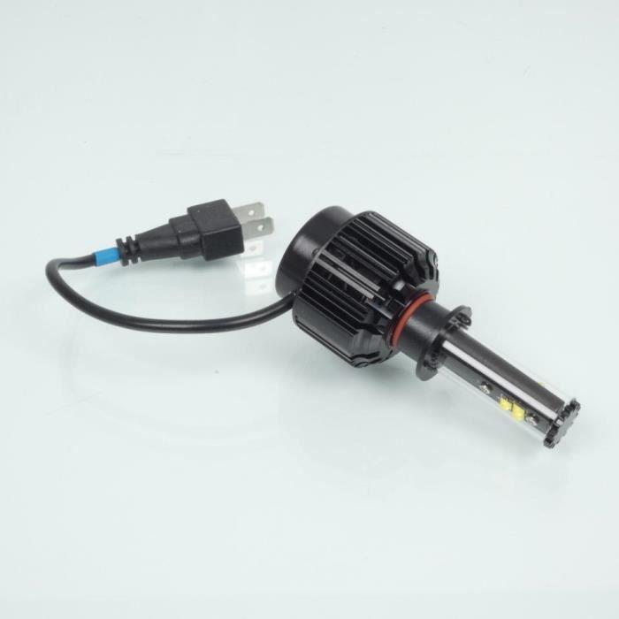 Kit conversion ampoule LED H1 ventilée 12V 30W RMS pour moto auto Neuf