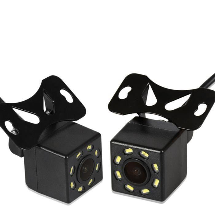 Caméra de recul de voiture 8LEDs caméra de haute définition étanche de pour (noir) RADAR DE RECUL - CAMERA DE RECUL