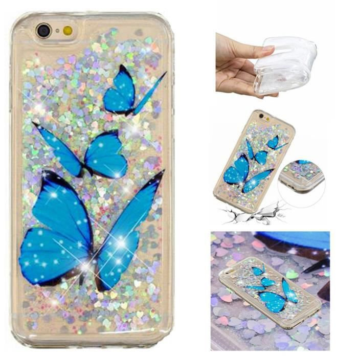 coque iphone 6s plus iphone 6 plus papillon ocean