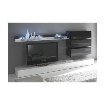 meuble tv mural valtena achat vente meuble tv meuble tv mural valtena cdiscount. Black Bedroom Furniture Sets. Home Design Ideas