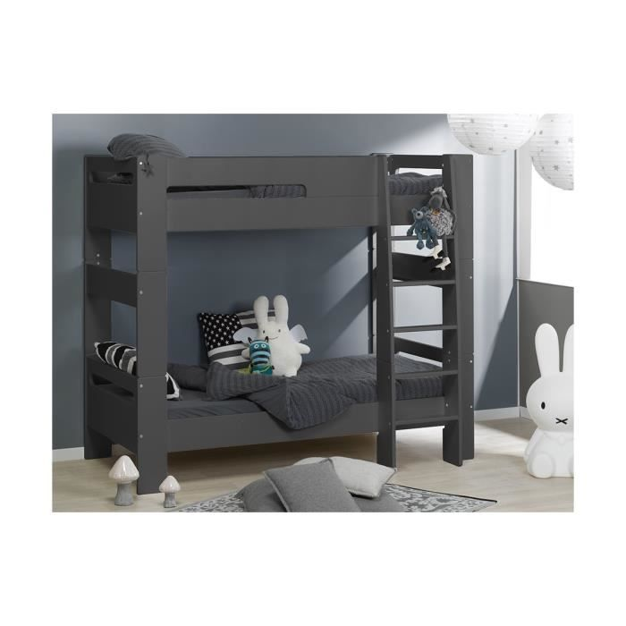 lit superpos enfant london 90 190 achat vente lits. Black Bedroom Furniture Sets. Home Design Ideas