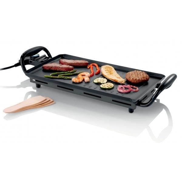 plancha duet plaque de cuisson teppan yaki 23 x 43cm 1800w grill viande achat. Black Bedroom Furniture Sets. Home Design Ideas