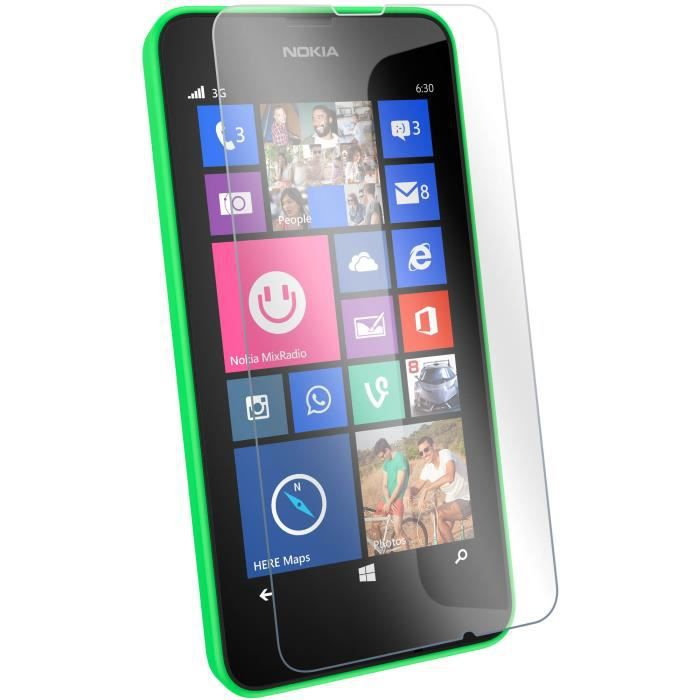 film cran verre tremp nokia lumia 630 635 achat film protect t l phone pas cher avis et. Black Bedroom Furniture Sets. Home Design Ideas