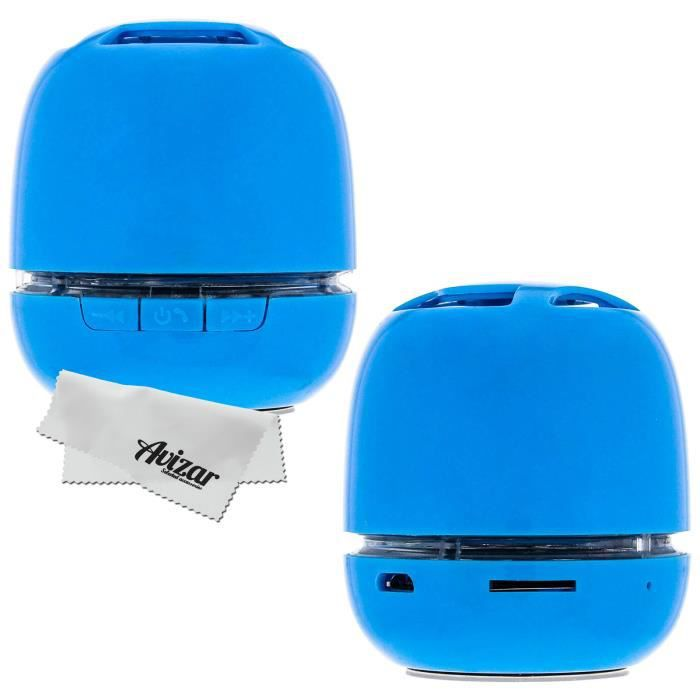 enceinte bluetooth portable sans fil bleu achat. Black Bedroom Furniture Sets. Home Design Ideas