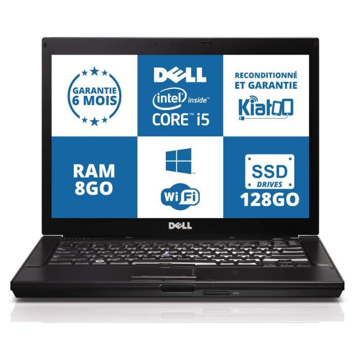 ordinateur portable dell latitude e4310 core i5 8go ram. Black Bedroom Furniture Sets. Home Design Ideas