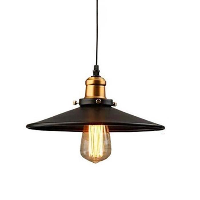 Idegu 2x Retro Design Lustre Suspension Luminaire Edison Grenier