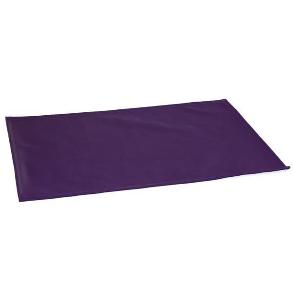 Set de table pu 30x40 cm prune achat vente chemin for Set de table violet