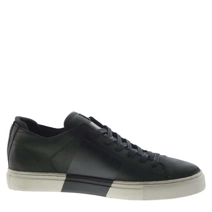 Crime London Sneakers Homme Black