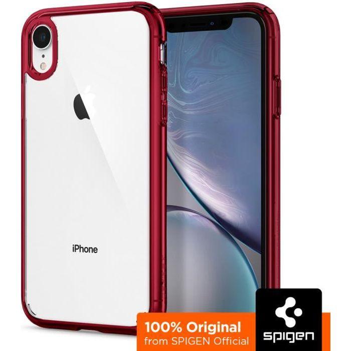 spigen coque iphone xr ultra hybrid bumper renfo