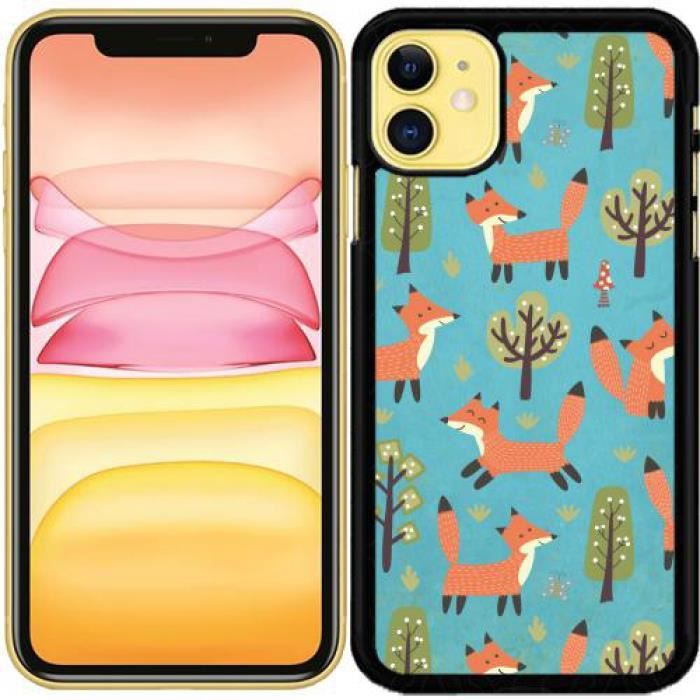 Coque fox iphone 11