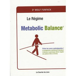 LIVRE RÉGIME Le régime... Metabolic Balance