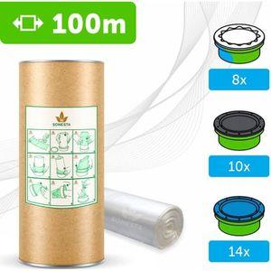 RECHARGE POUBELLE 100 M - ECO Recharge de poubelle à couches Compati