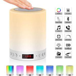 LAMPE A POSER Lampe de Chevet LED Touch Portable Avec Enceinte B