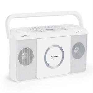 RADIO CD CASSETTE auna Boomtown USB Poste radio FM et lecteur CD por