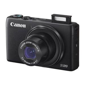 APPAREIL PHOTO COMPACT CANON PowerShot S120 Noir - CMOS 12MP Zoom 5x