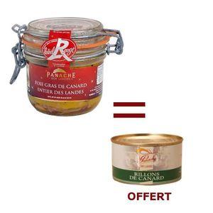 PATÉ FOIE GRAS 1 Foie Gras Entier 180g Acheté = 1 Rillons OFFERT