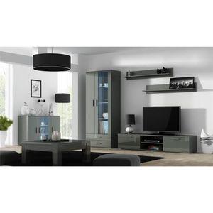 MEUBLE TV Ensemble meuble TV design SANO 9 - gris