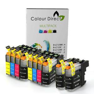 CARTOUCHE IMPRIMANTE 10 XL ColourDirect LC123 - LC121 Cartouche D'encre