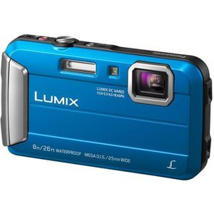 APPAREIL PHOTO COMPACT PANASONIC LUMIX DMC-FT30 BLEU