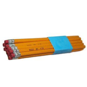 POT À CRAYON 10PCS Crayon à papier 2HB en Bois avec Gom s à Eff