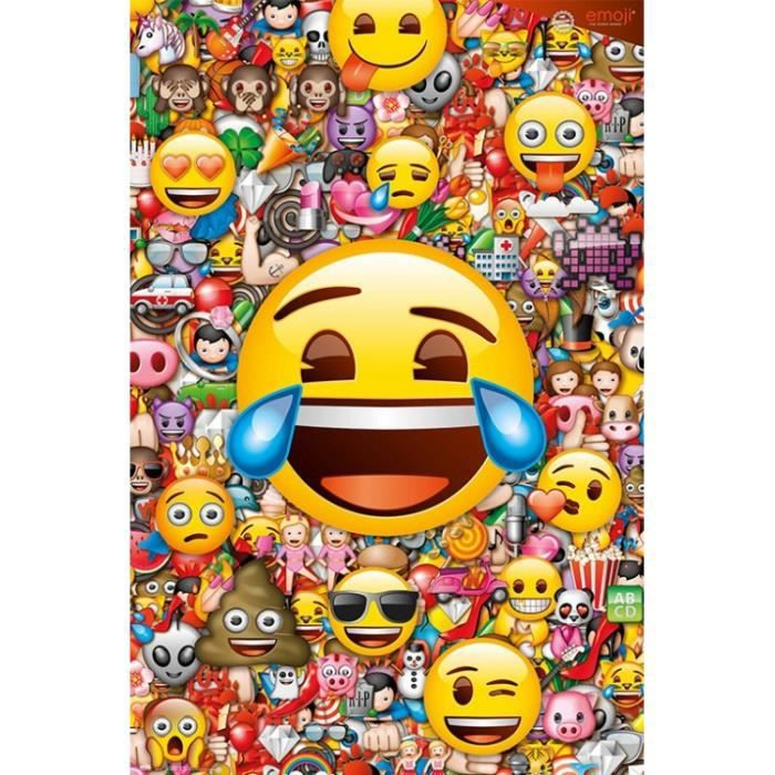 Poster Emoji Achat Vente Pas Cher