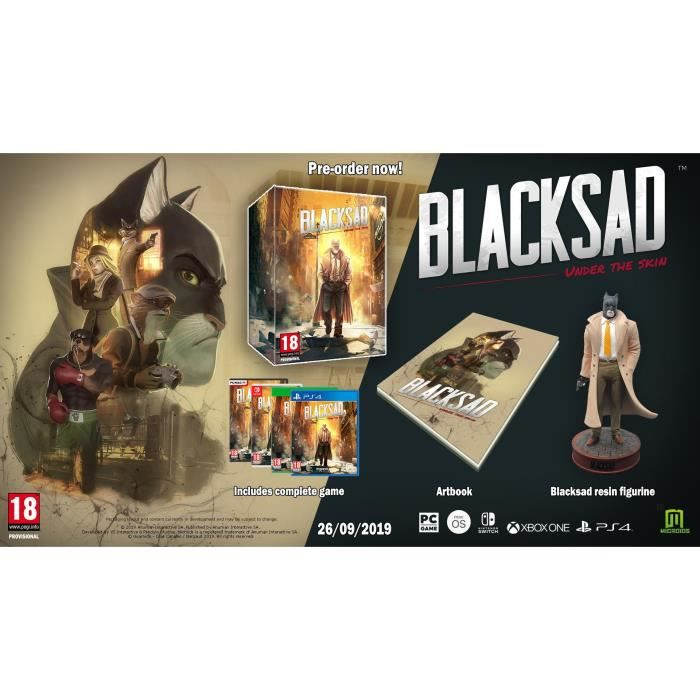 BlackSad Under the Skin - Collector Jeu Xbox One