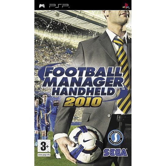 JEU PSP FOOTBALL MANAGER HANDHELD 2010 / Jeu PSP