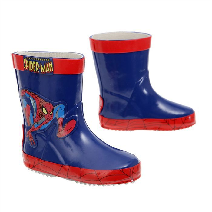 spider man bottes de pluie spezia ter b b marine et rouge achat vente botte cdiscount. Black Bedroom Furniture Sets. Home Design Ideas
