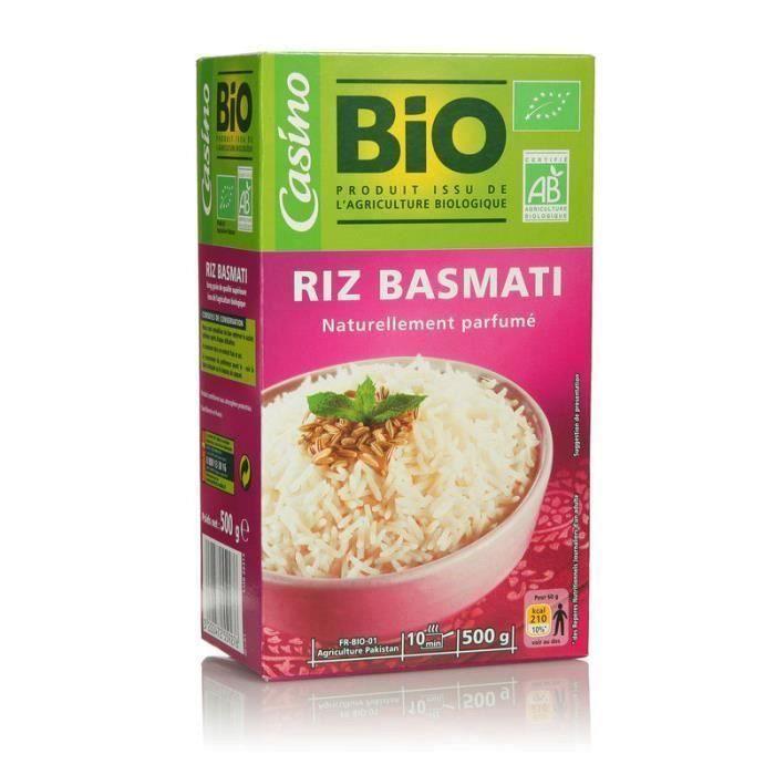 [LOT DE 3] Riz basmati bio - 500g