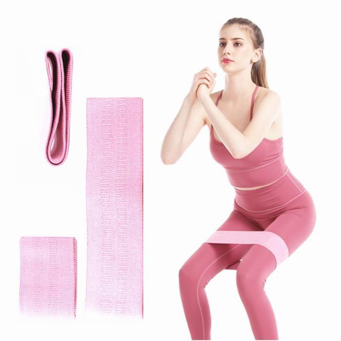 Bande Élastique Fitness Bande de Résistance en Latex Naturel Force pour Hommes et Femmes Musculation Pilates Yoga - moyen 30-50 lb