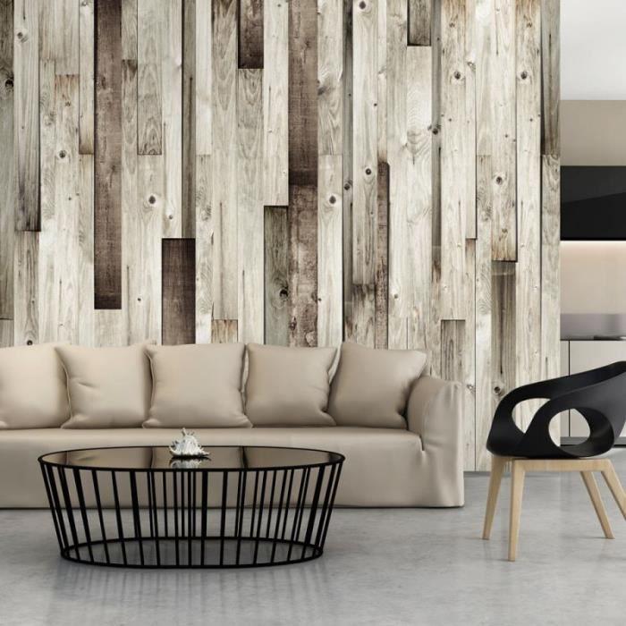 Artgeist Papier peint - Plancher en bois .Taille : 200x140 - 5903428509276